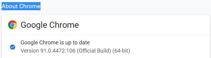 آموزش آپدیت گوگل کروم